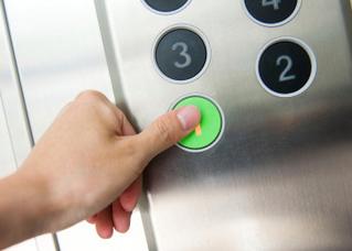 Контроль двери лифта от проникновения (СКУД)