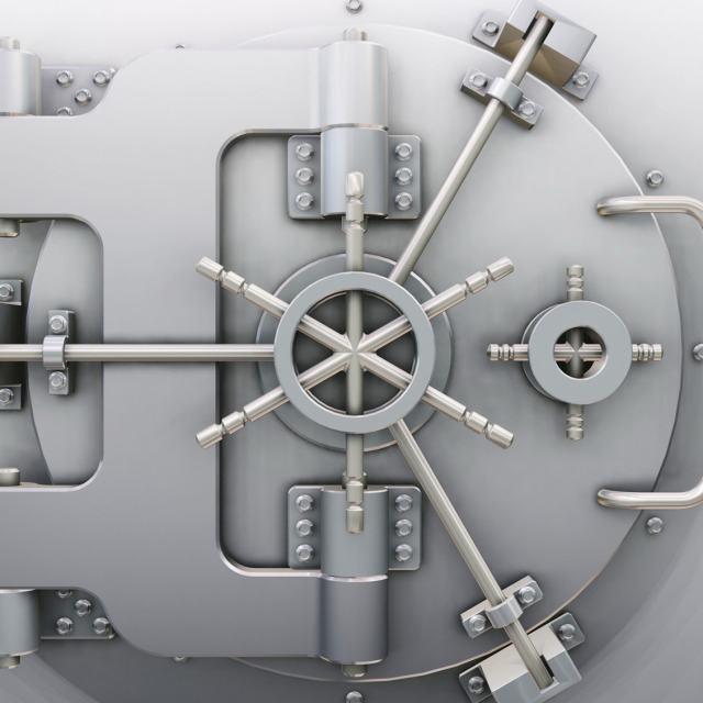 Система охраны депозитарных ячеек