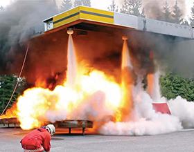 Автоматическая система управления порошковым  пожаротушением